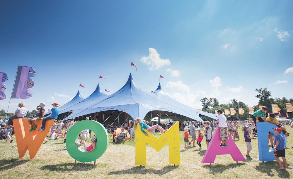 הופעות מוזיקה באנגליה - פסטיבל וומאד