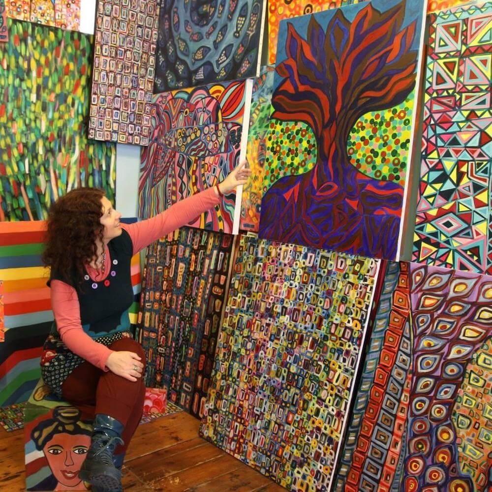 אמנית ישראלית בברייטון - אורנה שניאורסון פסקל
