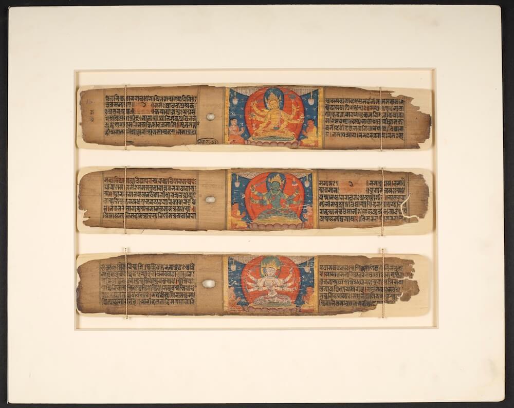 תערוכות בלונדון - בודהיזם בספרייה הבריטית / בריטיש לייבררי