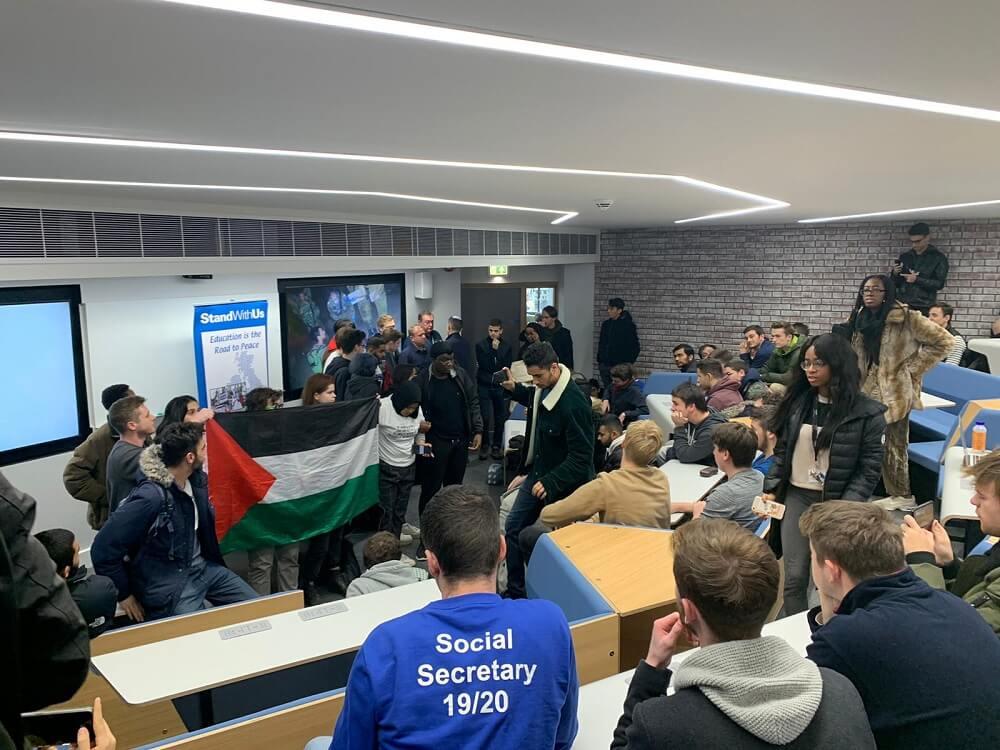 הפגנה באוניברסיטת וורוויק
