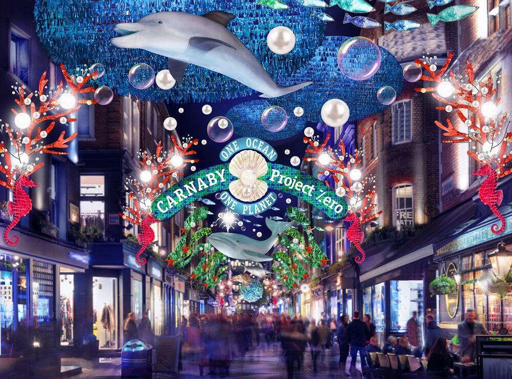 קרנברי סטריט - הדלקת אורות בלונדון