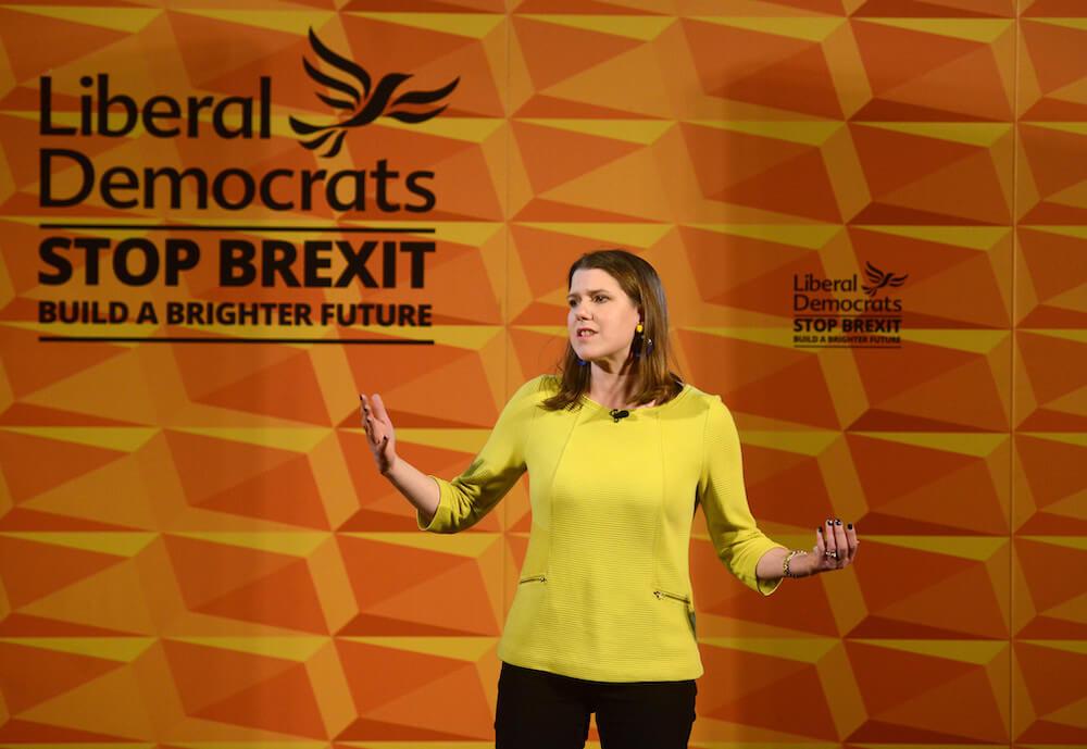 ג׳ו סווינסון, מנהיגת מפלגת הליברל-דמוקרטים בבריטניה