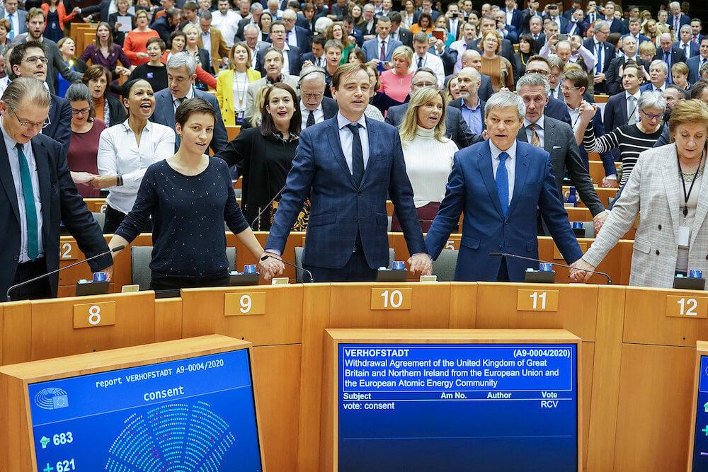 הפרלמנט האירופי - הצבעה על פרישת בריטניה מהאיחוד, ברקזיט, ברקסיט