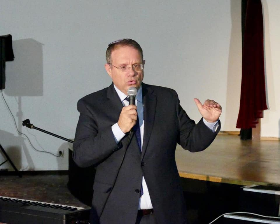 """יעקב חגואל, סגן יו""""ר ההסתדרות הציונית העולמית"""