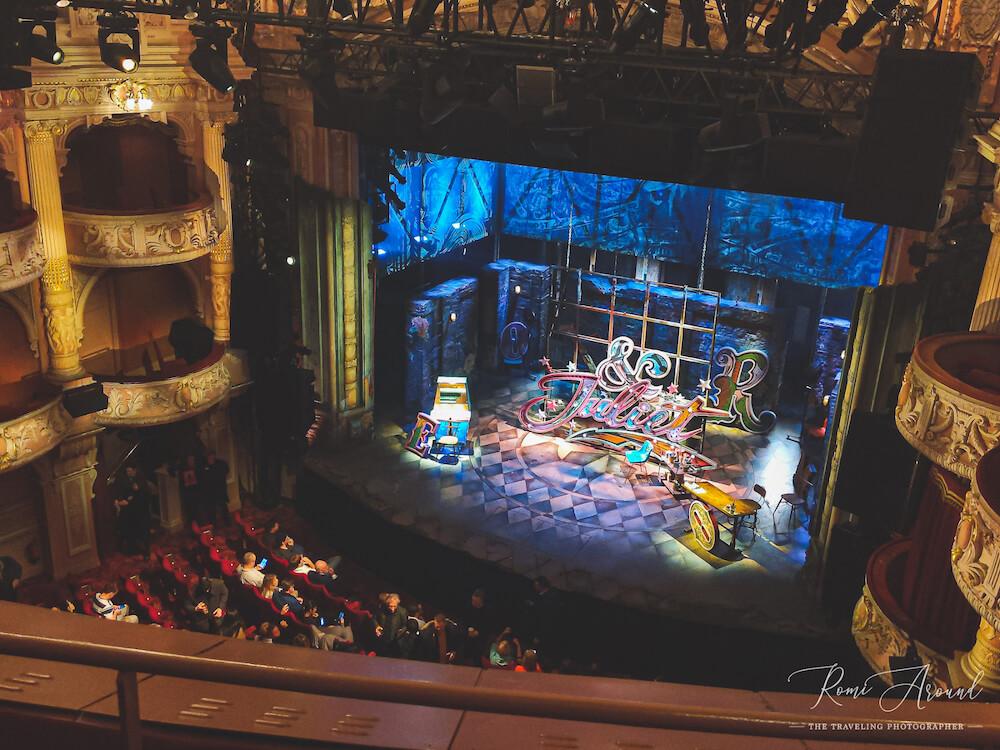 מחזות זמר מומלצים בלונדון ״אנד ג׳ולייט״