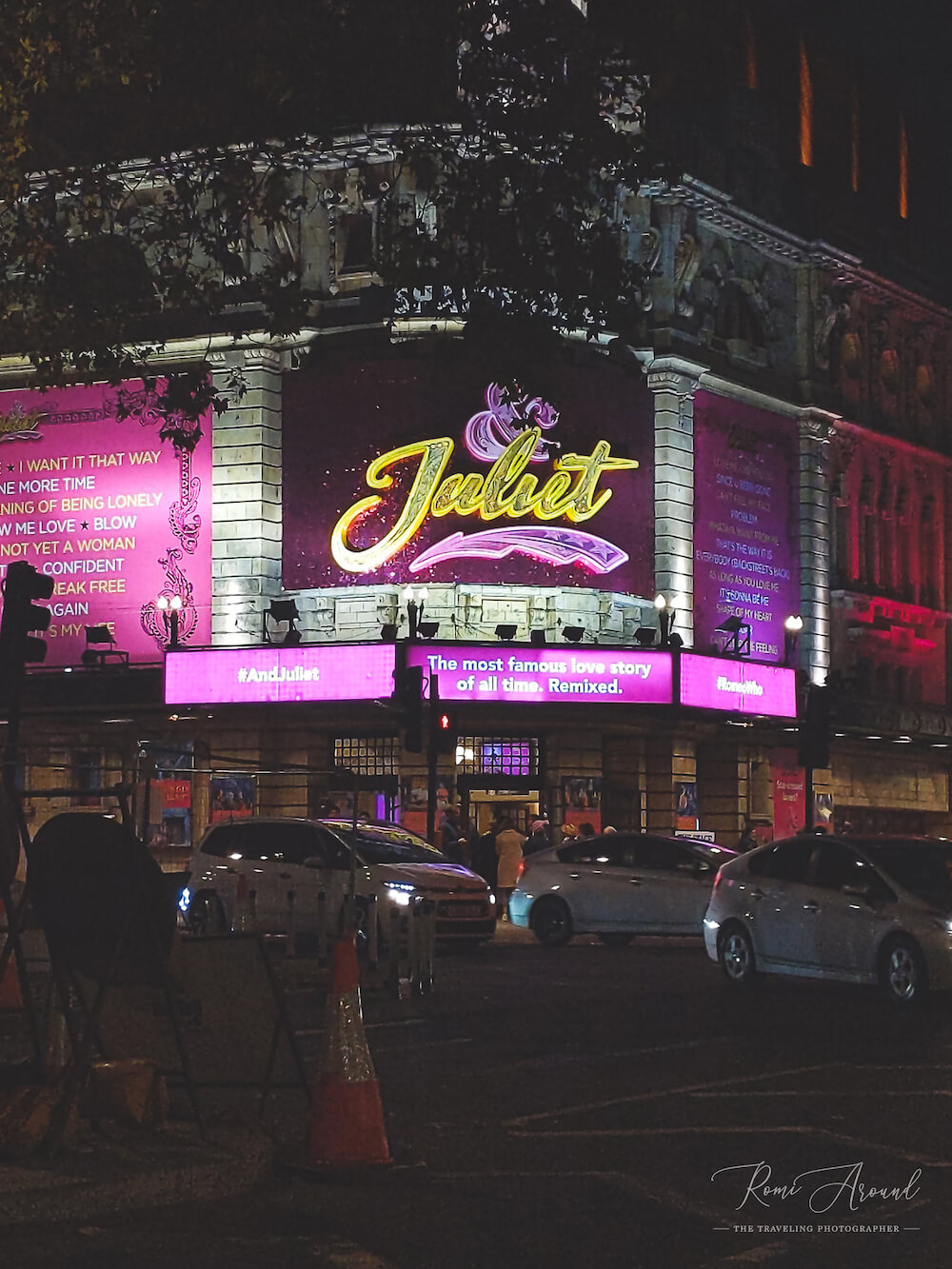מחזות זמר שווים בלונדון - אנד ג׳ולייט