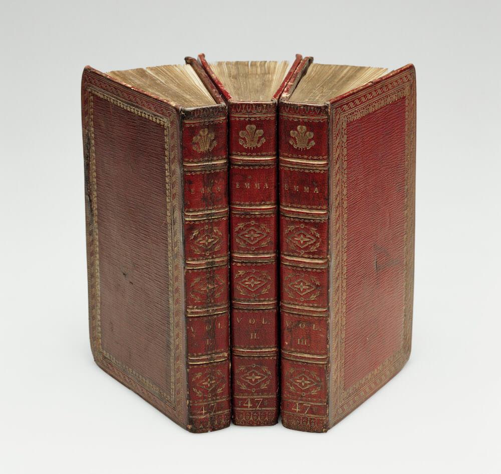 הספר אמה של ג׳יין אוסטן - תערוכה בלונדון