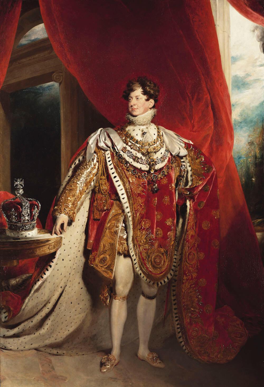 המלך ג׳ורג׳ הרביעי - תערוכה בלונדון