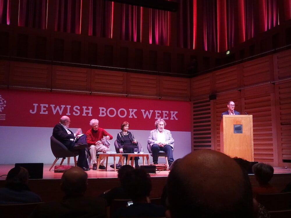 שבוע הספר בלונדון: הסופרים הווארד ג'ייקובסון אווה הופמן וגבריאל ג'וסיפוביצ'י