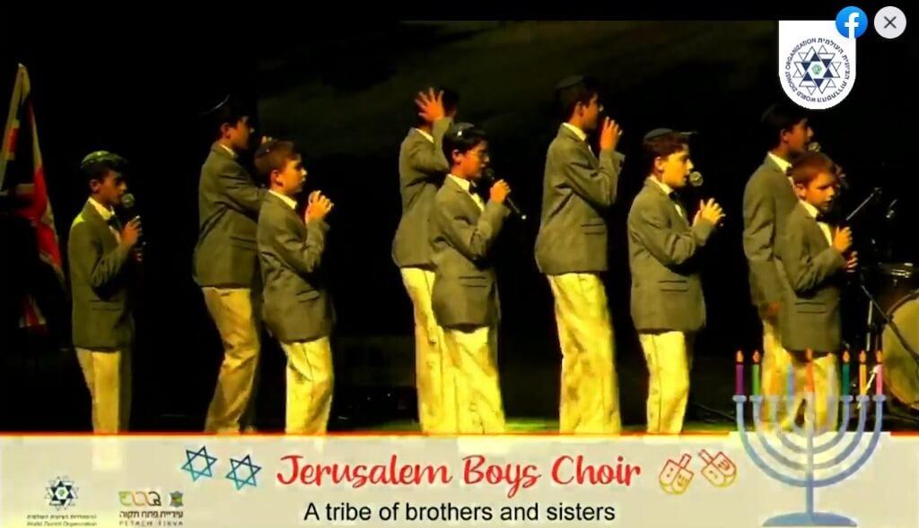 מקהלת פרחי ירושלים - חנוכה באנגליה