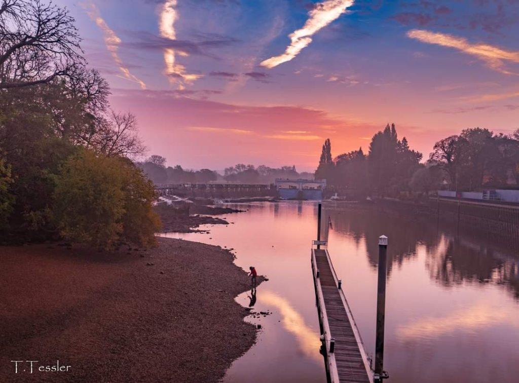 מסלולי טיול בלונדון: סכר תודינגטון
