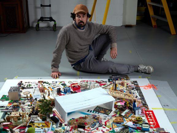 אמנות בלונדון, אנגליה, בריטניה - האמן הישראלי יונתן ויניצקי