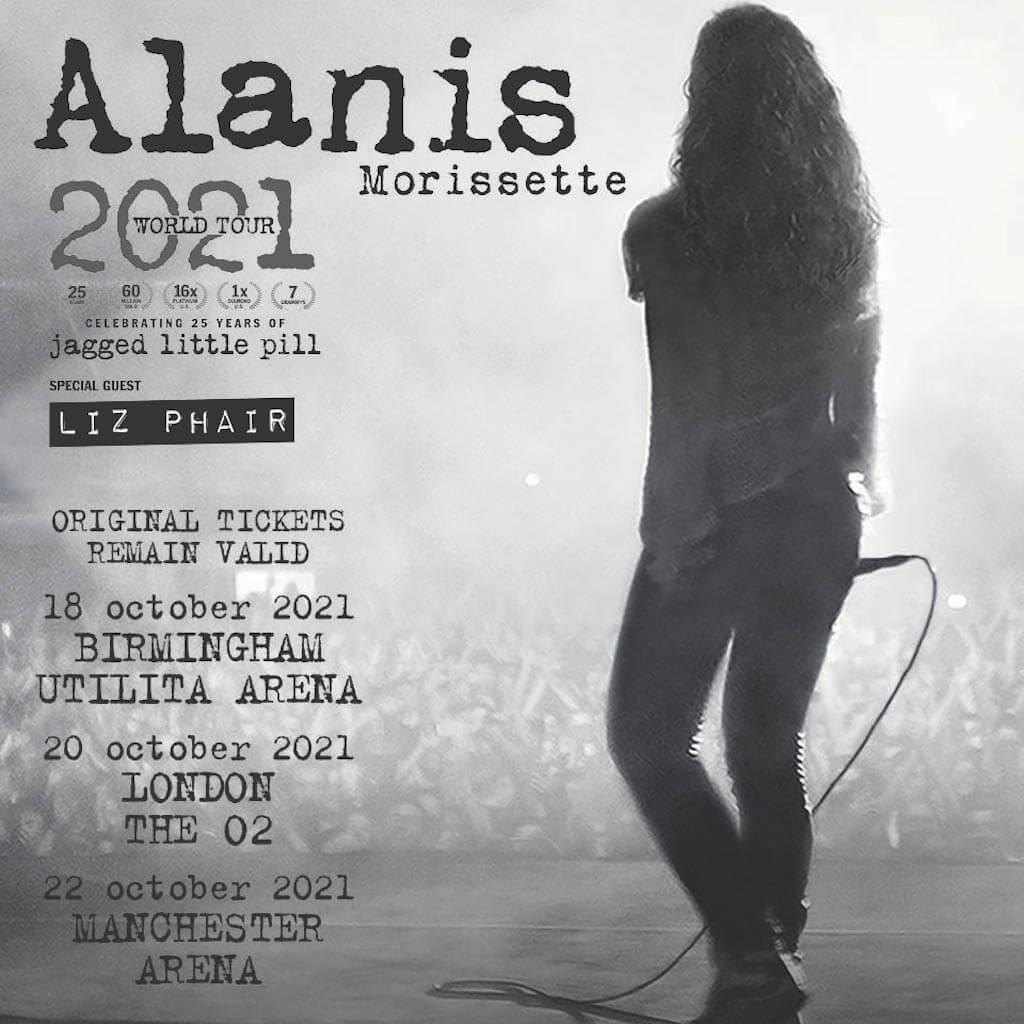 הופעות מוזיקה בלונדון - אלאניס מוריסט