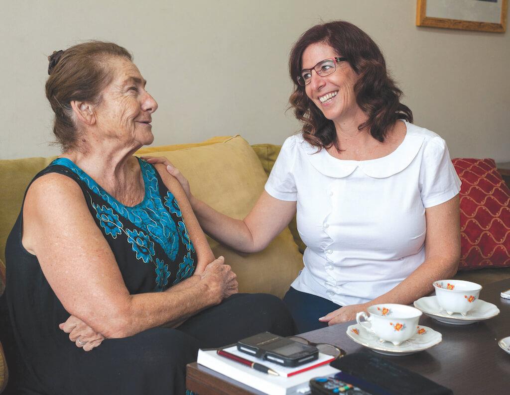 טיפול בהורים בישראל מלונדון, אנגליה בתקופת החגים מענית שלזינגר