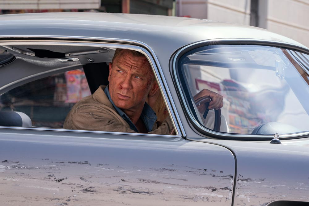 סרטים בבריטניה - לא זמן למות, סרט ג'יימס בונד חדש בקולנוע